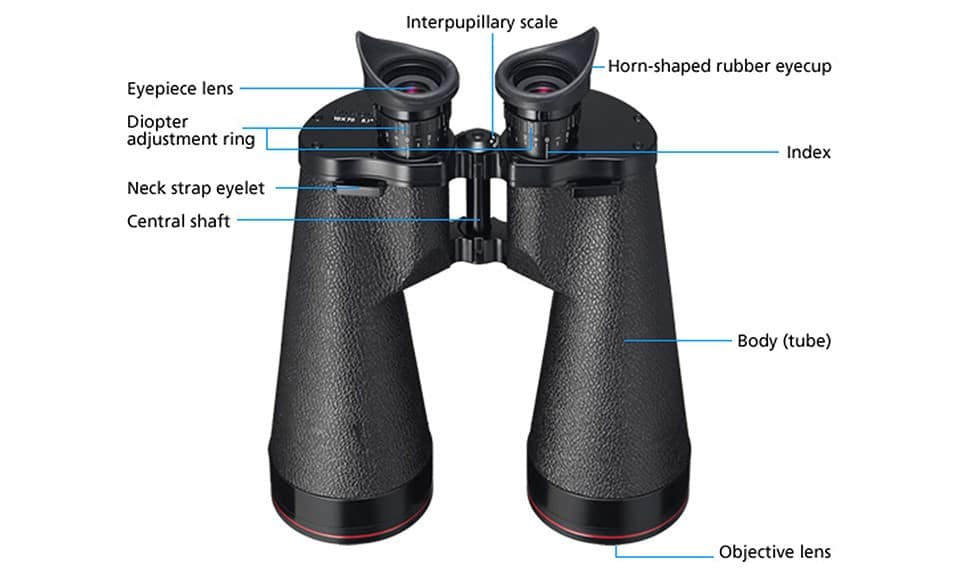 How do you focus binoculars